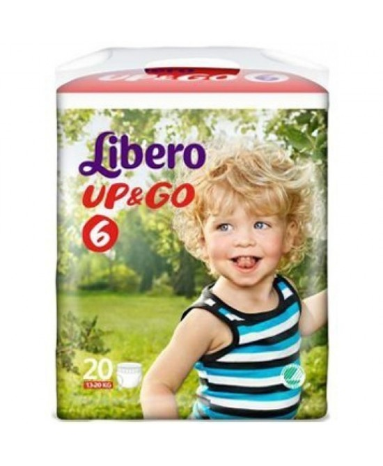 Libero Up&Go Pannolini Taglia 6 20 Pezzi - FARMAEMPORIO