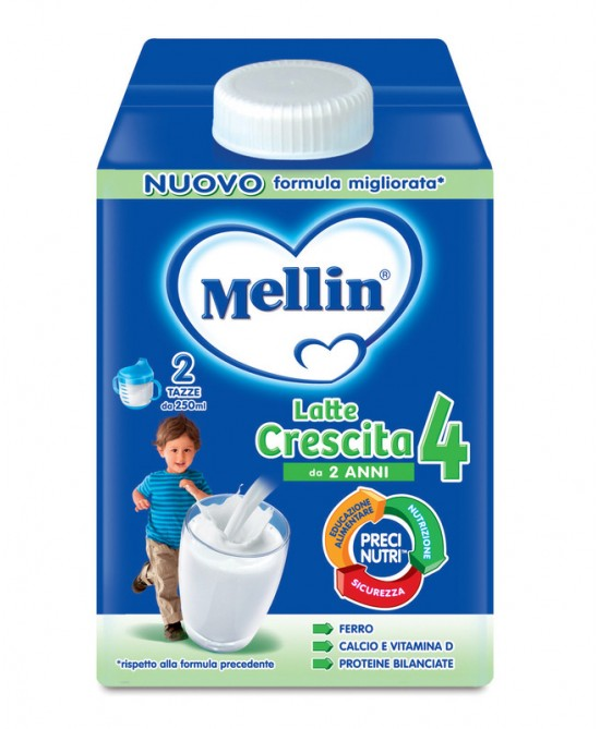 Mellin Latte Di Crescita Latte Crescita 4 Polvere 700g - Farmacia 33