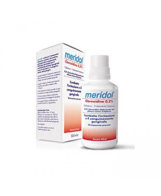 Meridol Clorexidina 0,2% Collutorio 300ml - Farmacento