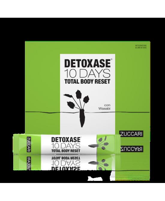 Zuccari Detoxase 10 Days Total Body Reset Integratore Alimentare 10 Stick Pack Da 3g - Farmastar.it