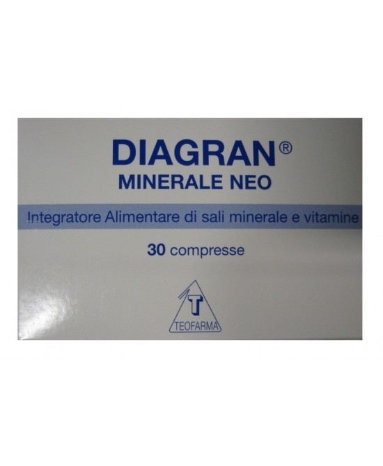 Diagran Minerale Neo Integratore Alimentare 30 Compresse - La tua farmacia online