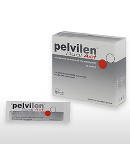 Epitaph Pelvilen Dual Act 20 Bustine - Farmaciasconti.it