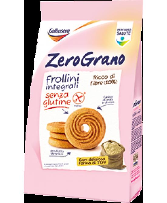 Galbusera ZeroGrano Frollini Integrali Senza Glutine 300g - Farmawing