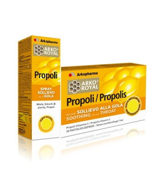 Arkopharma Pack Gola Propoli Spray + Pastiglie - La tua farmacia online