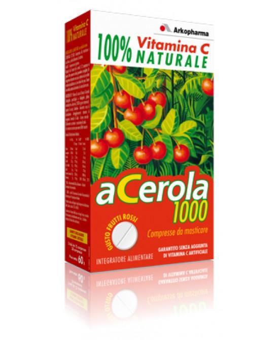 Arkofarma Acerola 1000 Confezione Convenienza - Farmalandia