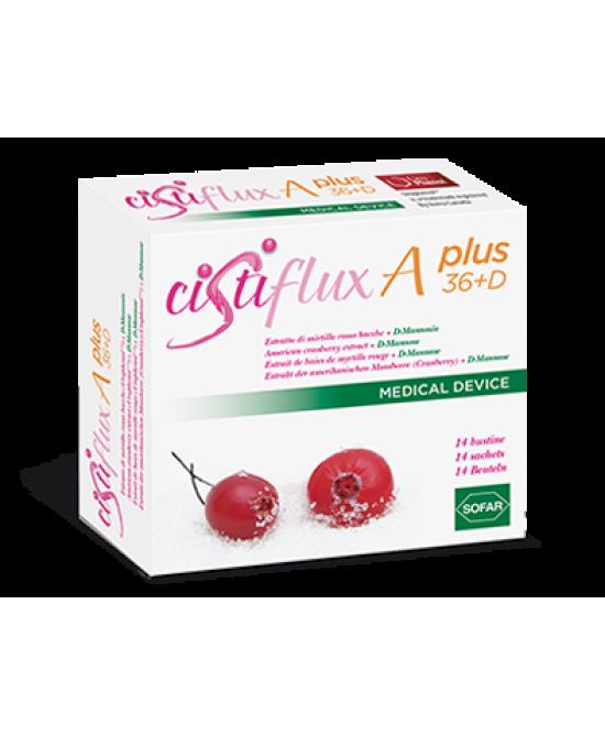 Sofar Cistiflux A Plus 36+D Integratore Alimentare 14 Bustine - Zfarmacia