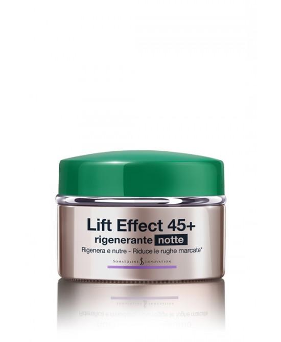 Somatoline Cosmetic Lift Effect 45+ Rigenerante Notte 50ml - Zfarmacia