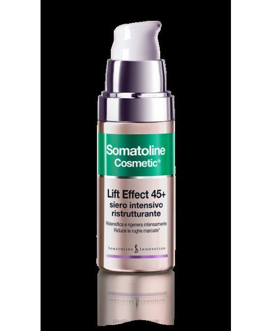Somatoline Cosmetic Lift Effect 45+ Siero Intensivo Ristrutturante 30ml - Zfarmacia