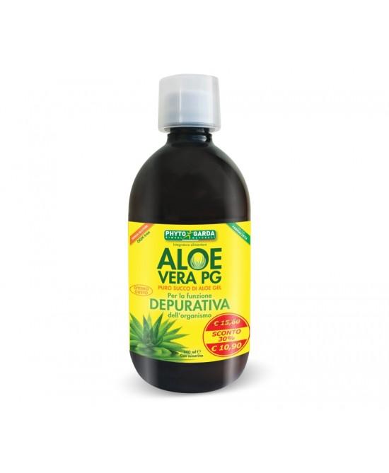 Phyto Garda Aloe Vera Pg Succo 500ml - Parafarmaciabenessere.it