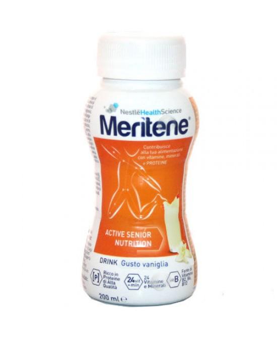 Nestlé Meritene Drink Integratore Alimentare Gusto Vaniglia 200ml - La tua farmacia online
