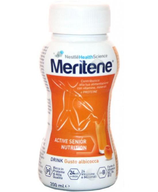 Nestlé Healt Science Meritene Drink Gusto Albicocca Integratore Alimentare 200ml - Zfarmacia