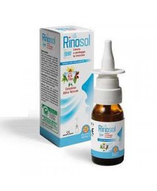 Rinosol 2act Spray Nasale 15ml - Farmacento