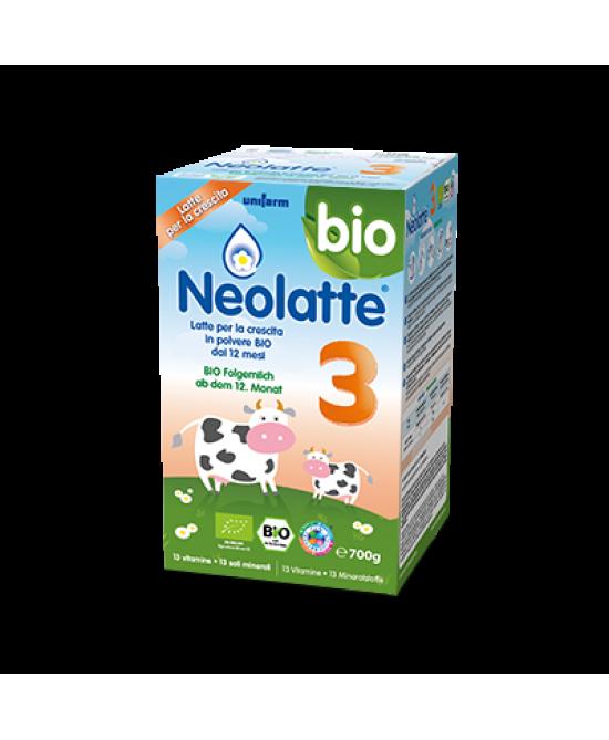 Neolatte 3 Bio Polvere 700g - Farmamille