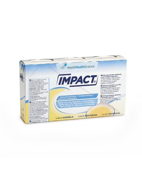 Nestlé Impact Oral Integratore Alimentare Gusto Vaniglia 3x237ml - FARMAEMPORIO