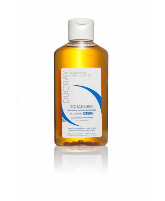 Ducray Squanorm Shampoo Riequilibrante Forfora Grassa 200 ml - La tua farmacia online