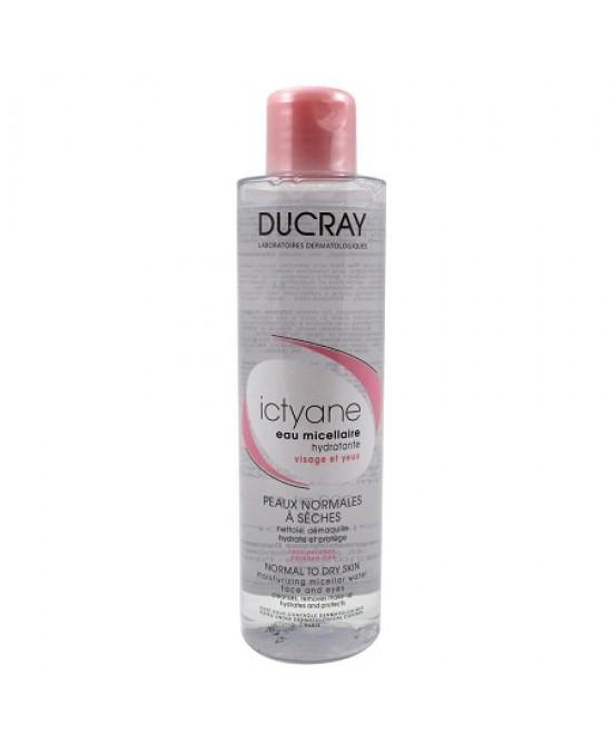 Ducray Ictyane Acqua Micellare Detergente Idratante Viso 200 ml - La tua farmacia online
