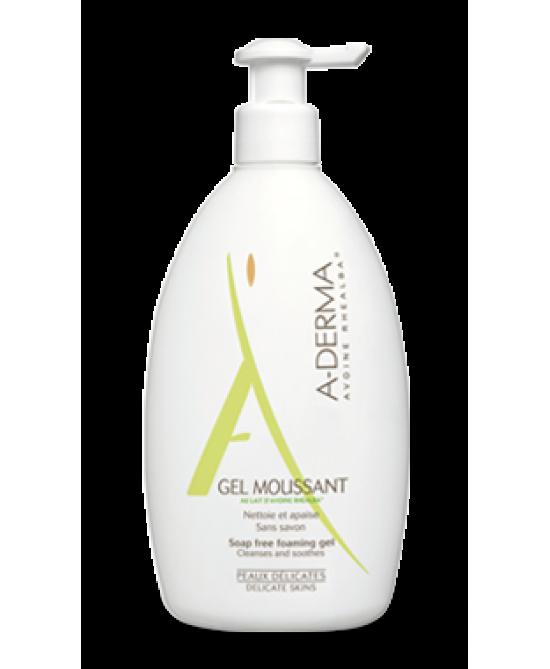 A-Derma Gel Detergente Al Latte D'avena 500ml - Farmastar.it