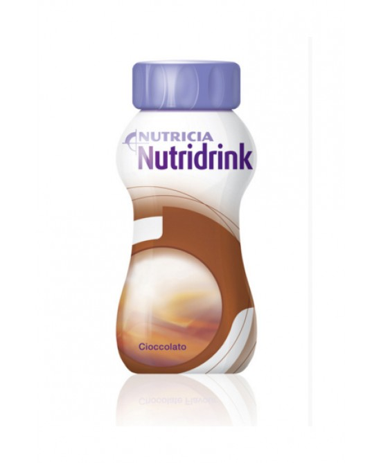 Nutricia Nutridrink Integratore Alimentare Gusto Cioccolato 4x200ml - Farmacia 33