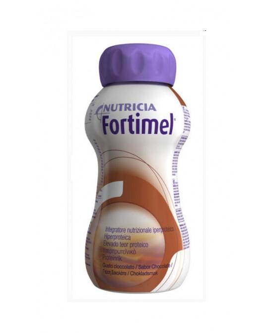 Nutricia Fortimel Integratore Nutrizionale Iperproteico Gusto Cioccolato 4x200ml - La tua farmacia online