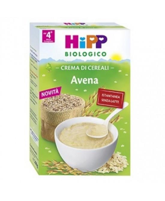 HiPP Biologico Crema Ai Cereali Avena 200g - Zfarmacia