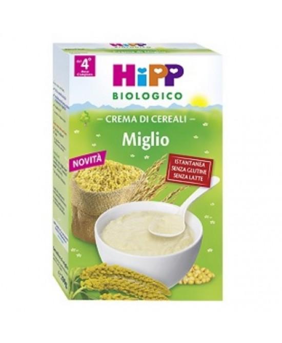 HiPP Biologico Creme Ai Cereali Miglio 200g - FARMAEMPORIO