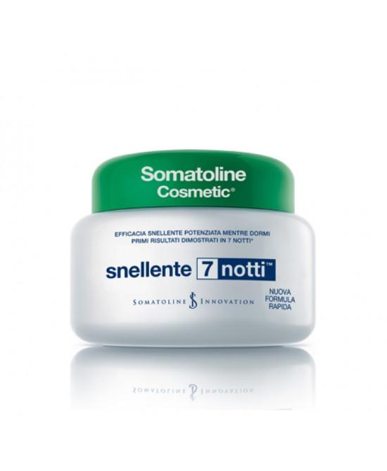 Somatoline Cosmetic Snellente 7 notti Vaso 250 ml - La tua farmacia online