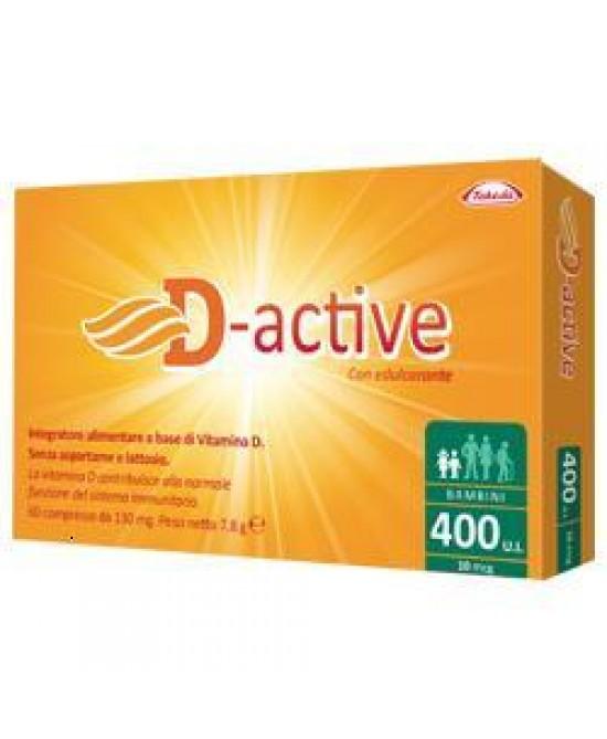 D-active 400 Ui Bambini 60cpr - Farmacia 33