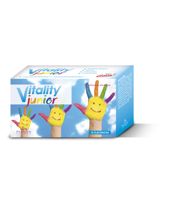 Vitality Junior Integratore Alimentare 10 Flaconi - FARMAEMPORIO