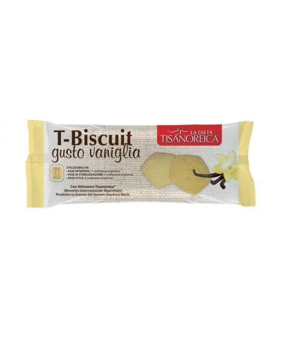 Tisanoreica T-Biscuit Vaniglia 50g - Farmastar.it