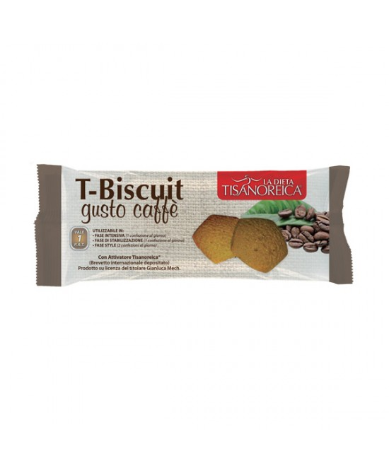 Tisanoreica T-Biscuit Al Gusto Di Caffe' 50g - Farmastar.it