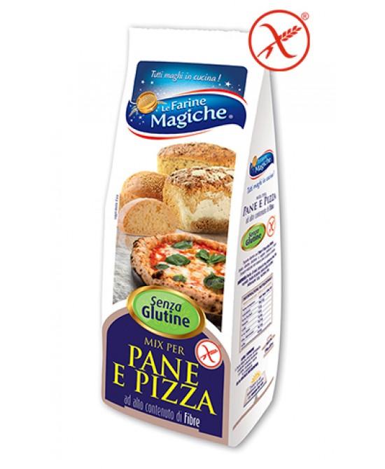 Le Farine Magiche Mix Di Farine Per Pane E Pizza Senza Glutine 500g - FARMAEMPORIO