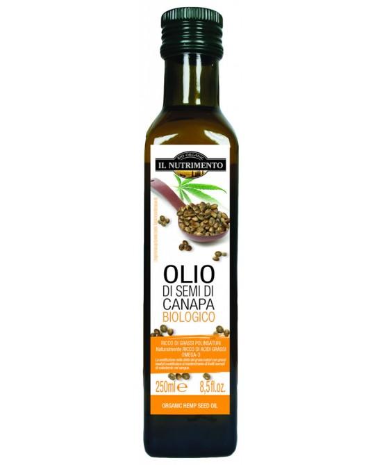 Il Nutrimento Olio Di Semi Di Canapa Biologico 250ml - FARMAEMPORIO