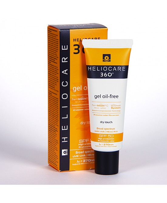 Heliocare 360° Gel Oil Free Spf 50 Tubo 50 ml - Farmastar.it