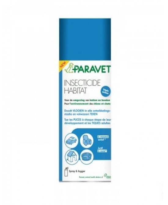 Paravet Insecticide Habitat Spray 200ml - Farmacento