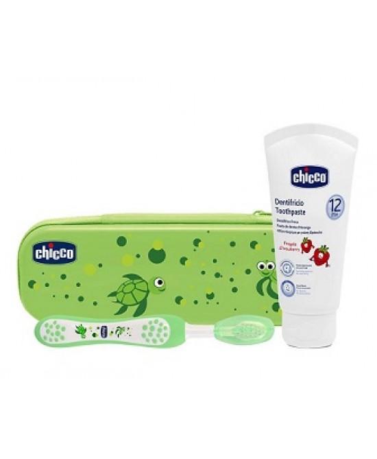 Chicco Set Dentale Verde Fluoro - La tua farmacia online