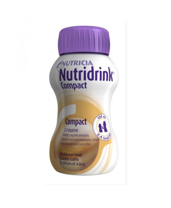 Nutridrink Compact Gusto Caffè 4 x 125 ml - Farmalilla