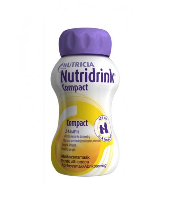 Nutricia Nutridrink Compact Integratore Alimentare Gusto Albicocca 4x125ml - Farmacia 33