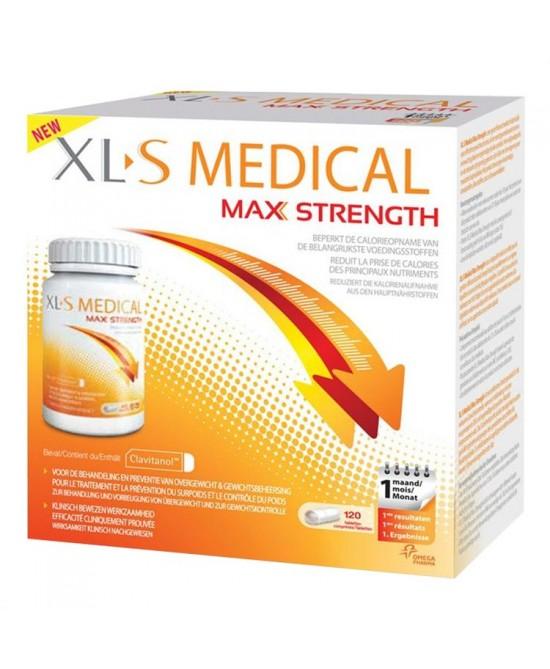 XLS Medical Max Strenght 120 compresse 1 mese di trattamento - La tua farmacia online