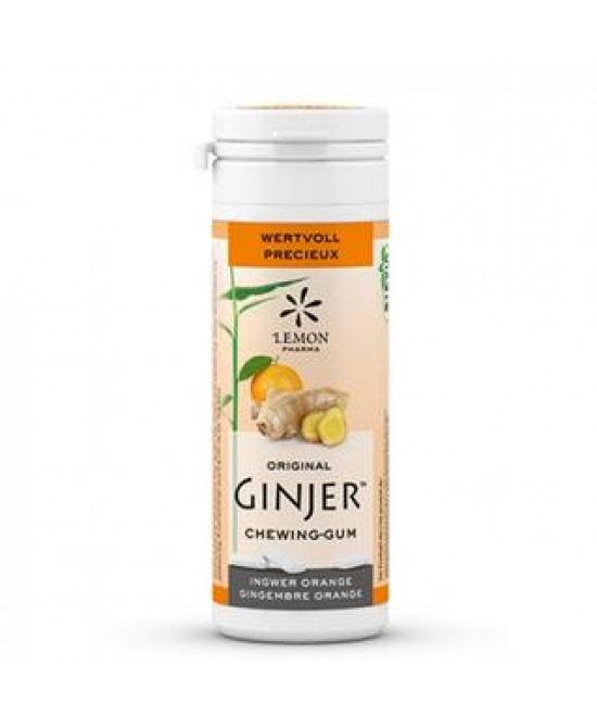 Lemon Pharma Ginjer Gomme Da Masticare Integratore Alimentare 30g - Farmawing