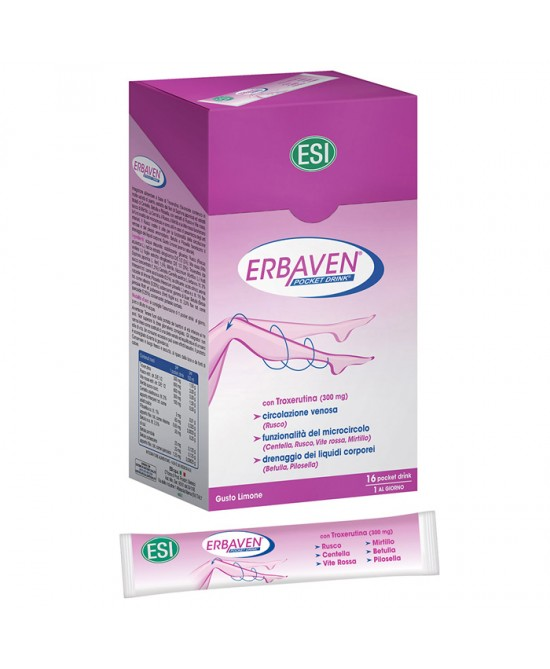 Esi Erbaven 16 Pocket Drink Da 320ml - FARMAEMPORIO