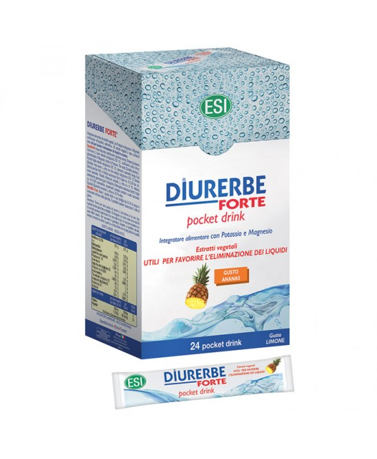 Esi Diurerbe Forte 24 Pocket Drink Gusto Ananas - farma-store.it