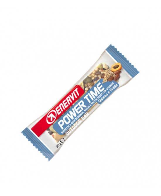 Enervit Power Time Barretta Quinoa E Frutta 30g - Farmastar.it