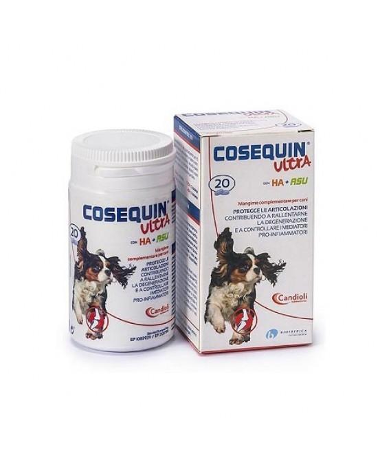 Candioli Cosequin Ultra Con Ha + Rsu Protegge Le Articolazioni 20 Compresse - farma-store.it