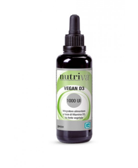 Nutriva Vegan D3 Integratore Alimentare Gocce 50ml - farma-store.it