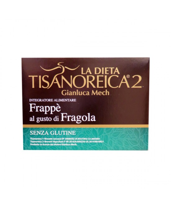 Tisanoreica2 Bevanda al gusto di Fragola 4x28gr - La tua farmacia online