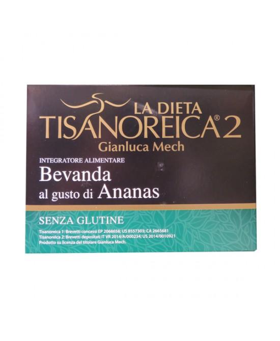 Tisanoreica2 Bevanda al gusto di Ananas 4x28gr - La tua farmacia online
