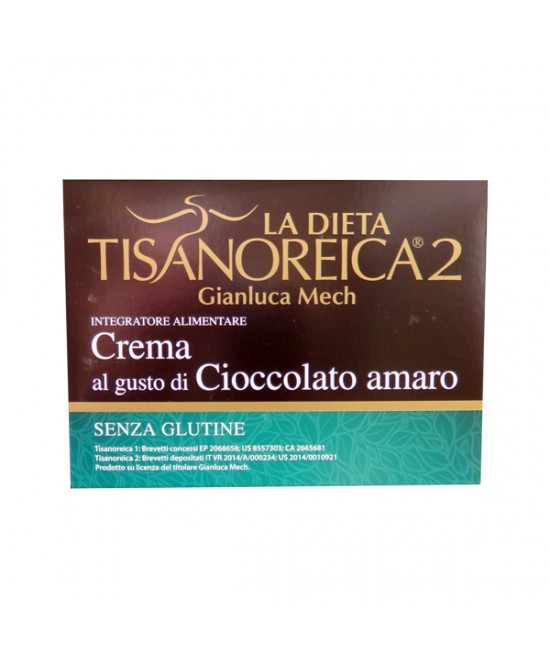 Tisanoreica2 Bevanda al gusto di Cioccolato Amaro 4x28gr - La tua farmacia online