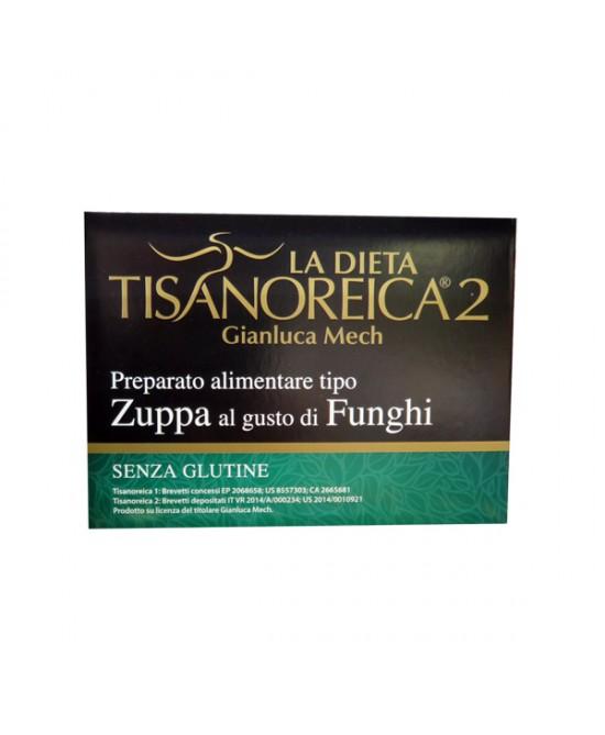 Tisanoreica2 Zuppa Al Gusto Di Funghi Senza Glutine 4 Buste Da 29g - La tua farmacia online