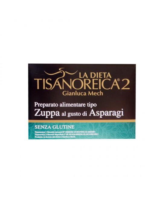 Tisanoreica2 Zuppa al gusto di Asparagi 4x29,5gr - La tua farmacia online