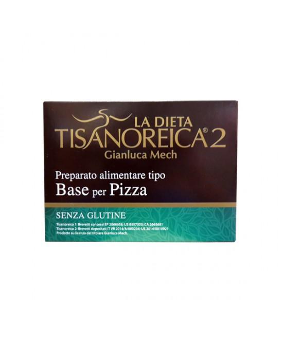 Tisanoreica2 Base per Pizza 4x31,5gr - La tua farmacia online